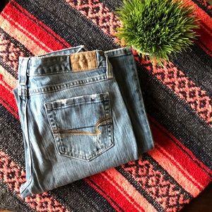 American Eagle Size 10 Regular Wideleg Jeans. 👖